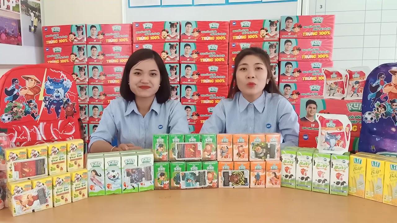 Thẻ sữa KUN tặng balo cực Kun
