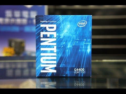 Тестирование процессора Intel Pentium G4400 на штатной частоте 3,3ГГц