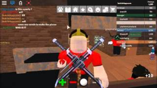 ORDERING FOR MYSELF!! | Roblox | Work at a Pizza Place