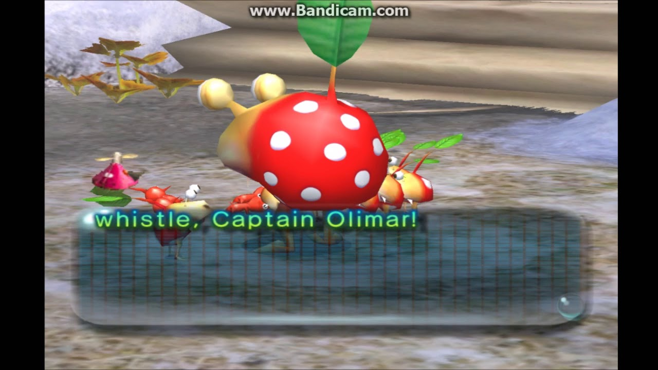 First Enemy Is A Bulbmin Pikmin 2 Hacking Youtube