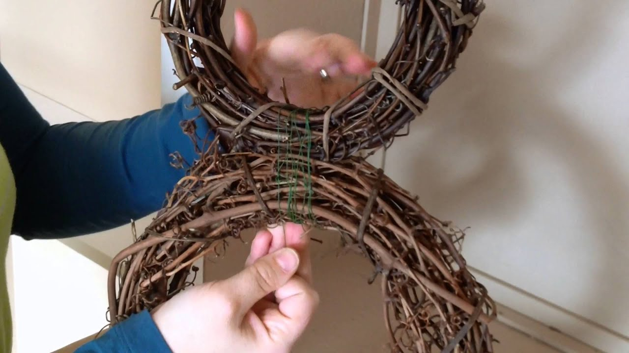 How To Make A Bunny Wreath!