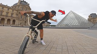 SNEAKING INSIDE THE LOUVRE MUSEUM!