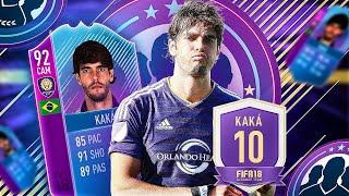 FIFA 18 92 END OF ERA KAKA REVIEW - WHAT A FANTASTIC PLAYER !!! 92 END OF ERA KAKA PLAYER REVIEW
