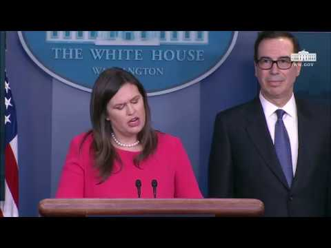 1/28/19: White House Press Briefing