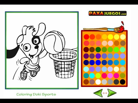 Basketball Coloring Pages for Kids - Basketball Coloring Pages - YouTube