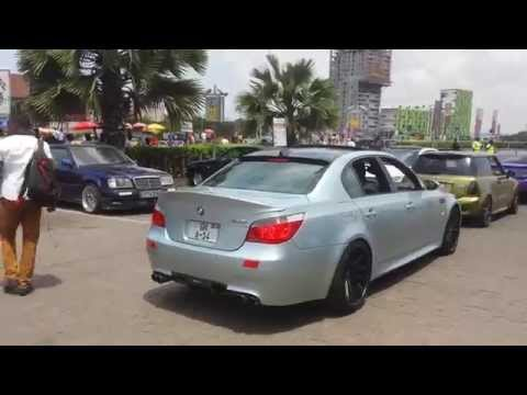 Ghana Car Enthusiasts Cruise To Ada 04/05/2014