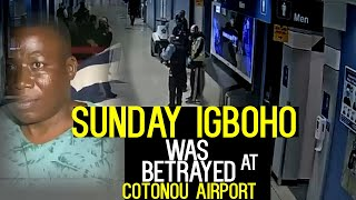 Breaking:Arrest!Sunday Igboho was betrayed at Cotonou Airport!SEE WATCH