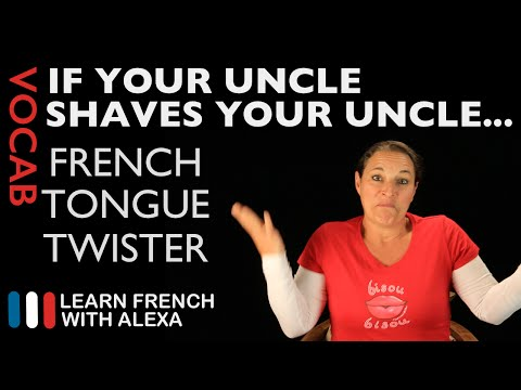 Si ton tonton... (French Tongue Twister - Learn French With Alexa) - 동영상