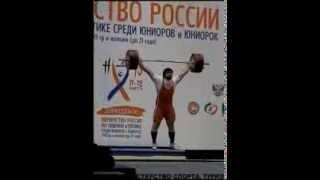 Чемпионат России по юниорам 2013 - Мартиросян Карен(105+)