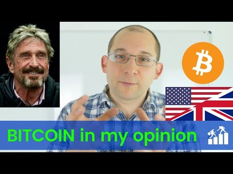 John Mcaffee Is Wrong About Bitcoin. Here Is Why! - Financial Fitness 030