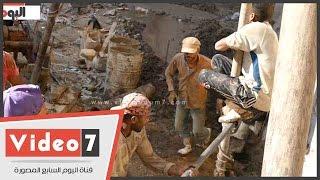 """بالفيديو.. """"الشقيانين جود تلانت"""".. مدح الرسول يكشف مواهب عمال التراحيل"""