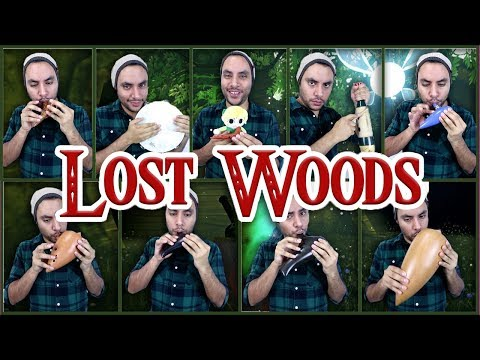Lost Woods - A Link to the Past/Ocarina of Time Medley - Ocarina Cover || David Erick Ramos