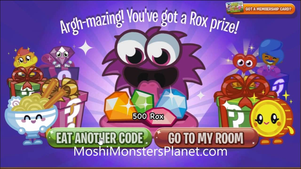 Free membership for 1 month - Moshi Monsters Questions for ...