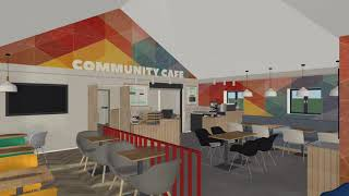 Community cafe walkthrough