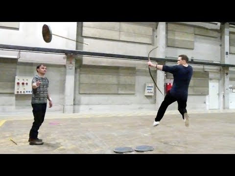 Lars Andersen has trained new Robin Hood star