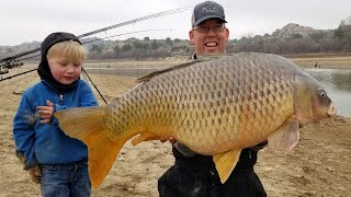 5 Days Fishing & Camṗing in Spain with My 3 yr Old - Catching MASSIVE CARP