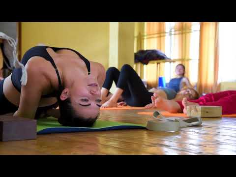 Yoga Teaching Practice by 200 Hour Yoga TT Students - June 2018 Batch - AYM Yoga School