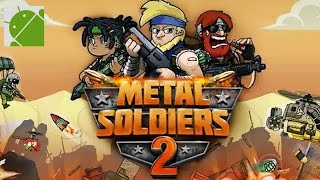Video Metal Soldiers 2 - Android Gameplay HD download MP3, 3GP, MP4, WEBM, AVI, FLV Desember 2017