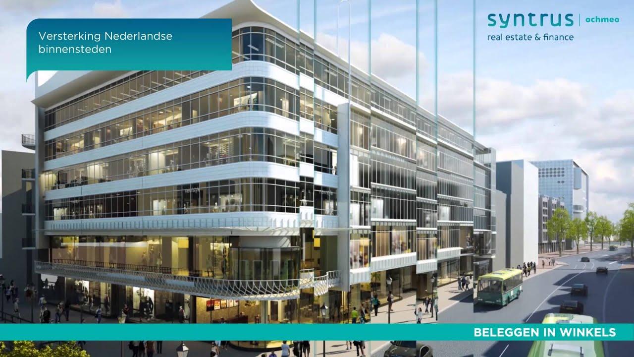 Real Estate Finance : Over syntrus achmea real estate finance youtube