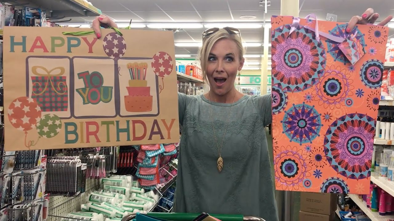 I LOVE Dollar Tree ~ Gift Bags, Bread & More ONLY $1! - YouTube