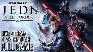 Star Wars JEDI FALLEN ORDER Gameplay Walkthrough Part 1 FULL GAME No Commentary (#JediFallenOrder)