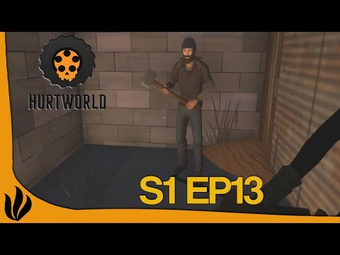 [FR] Hurtworld - S1 Ep13 - On construit l'avant-poste !