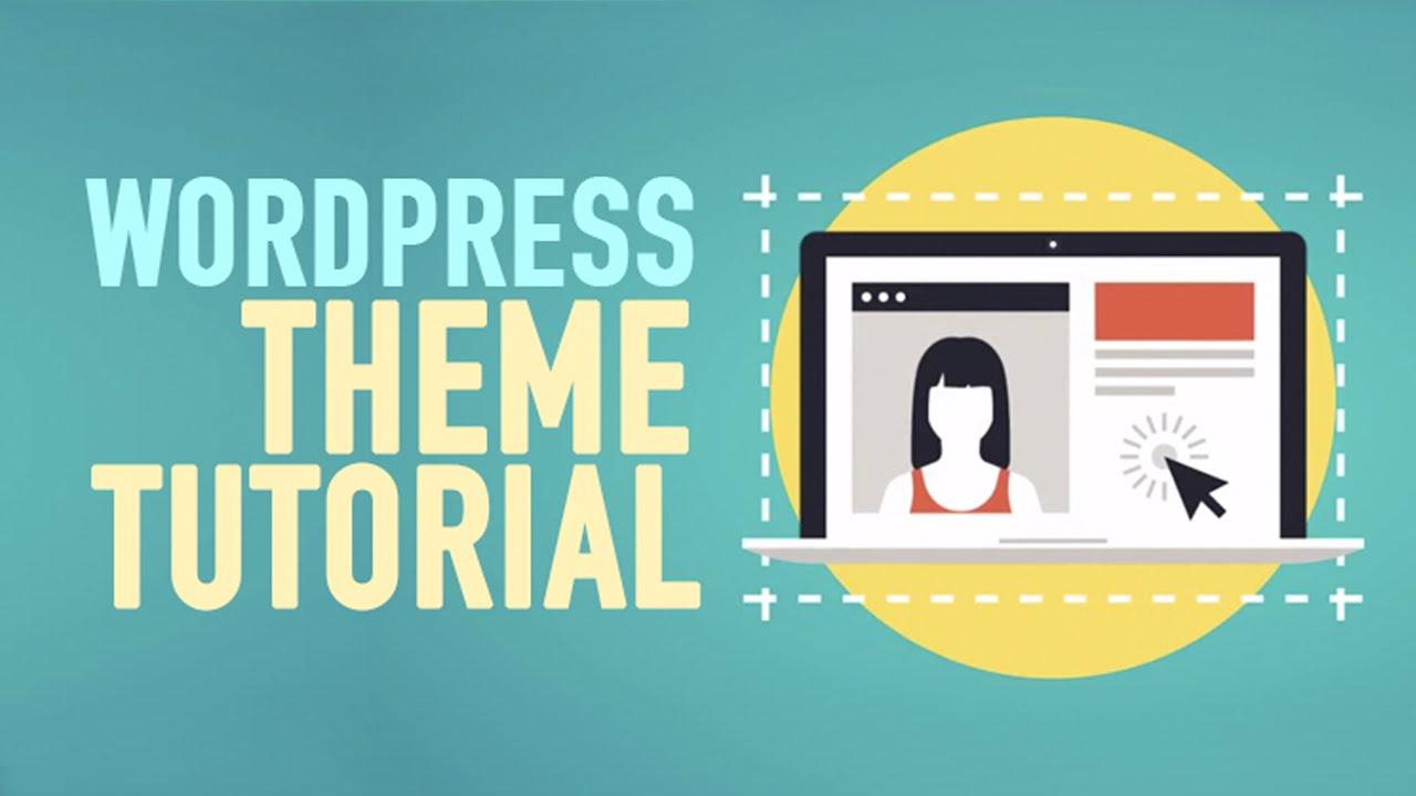 Wordpress Theme Tutorial Step By Step 2015   YouTube