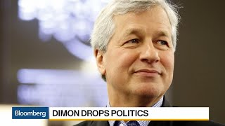 JPM's Dimon Regrets 'Machismo' on Trump, Rules Out 2020 Challenge