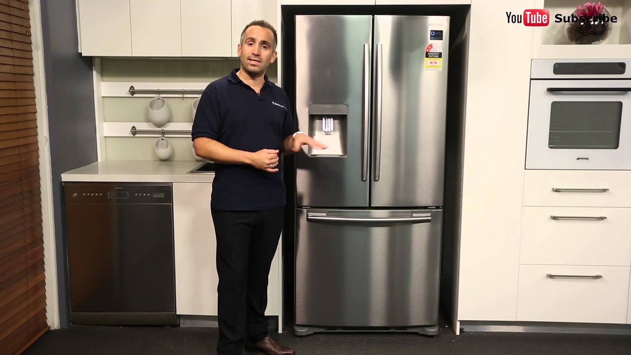 Samsung srf583dls 583l french door refrigerator reviewed by samsung srf583dls 583l french door refrigerator reviewed by product expert appliances online youtube rubansaba
