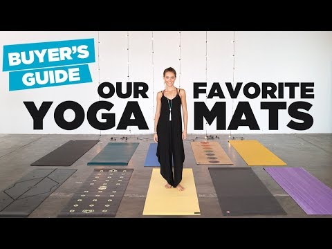 Yoga Mat Buyer's Guide - Our 10 Favorite Yoga Mats On the Ma