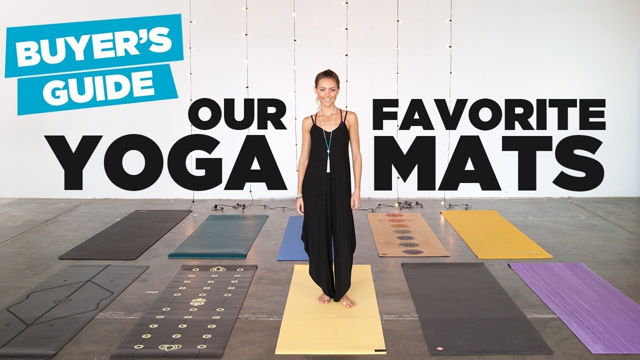 Yoga Mat Buyer S Guide Our 10 Favorite Yoga Mats On The Market Youtube