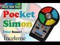 Pocket Simon - Mini Senso 1980 Elektronik Oyuncak ?ncelemesi.