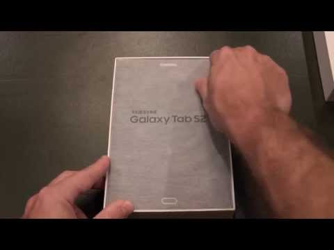 Samsung Galaxy Tab S2 8 Unboxing