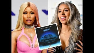 Cardi B confirms that Nicki Minaj verse was different when she heard 'Motorsport' and jumped on it.