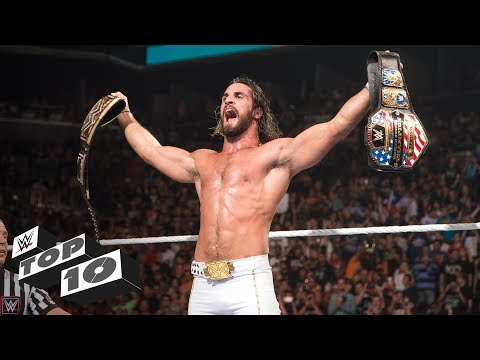 Thumbnail: SummerSlam championship triumphs - WWE Top 10, Aug. 19, 2017