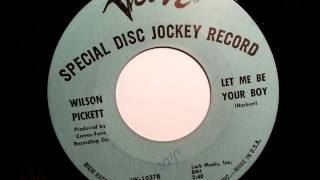 Wilson Pickett Let Me Be Your Boy - Verve