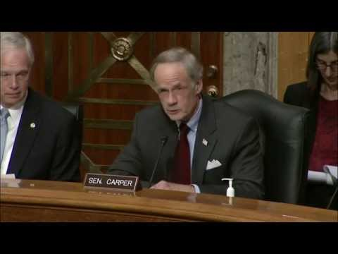 Sen. Carper Discusses the Ongoing Surge of Central American Migrants