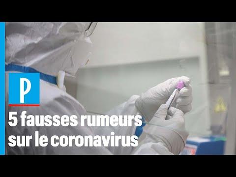 Covid-19: 5 fausses rumeurs sur la transmission du virus