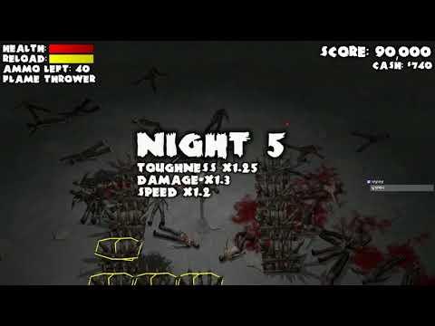 [Yet Another Zombie Defense][1] 혼자서 좀비디펜스, 근데 이거 터렛 지키기인데? 2017년 8월 11일