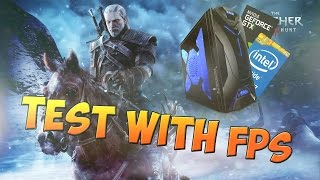 test the witcher 3   i3 4160 gtx950   monitor fps