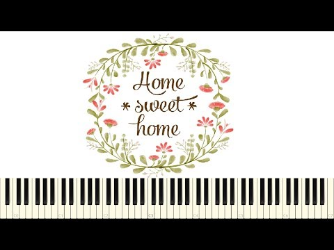 ♪ Easy Piano Tutorial: Home sweet home - Henry Bishop