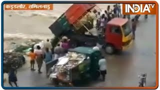 Aaj Ki Baat: Video of trucks dumping waste in Vellar river in Cuddalore goes viral