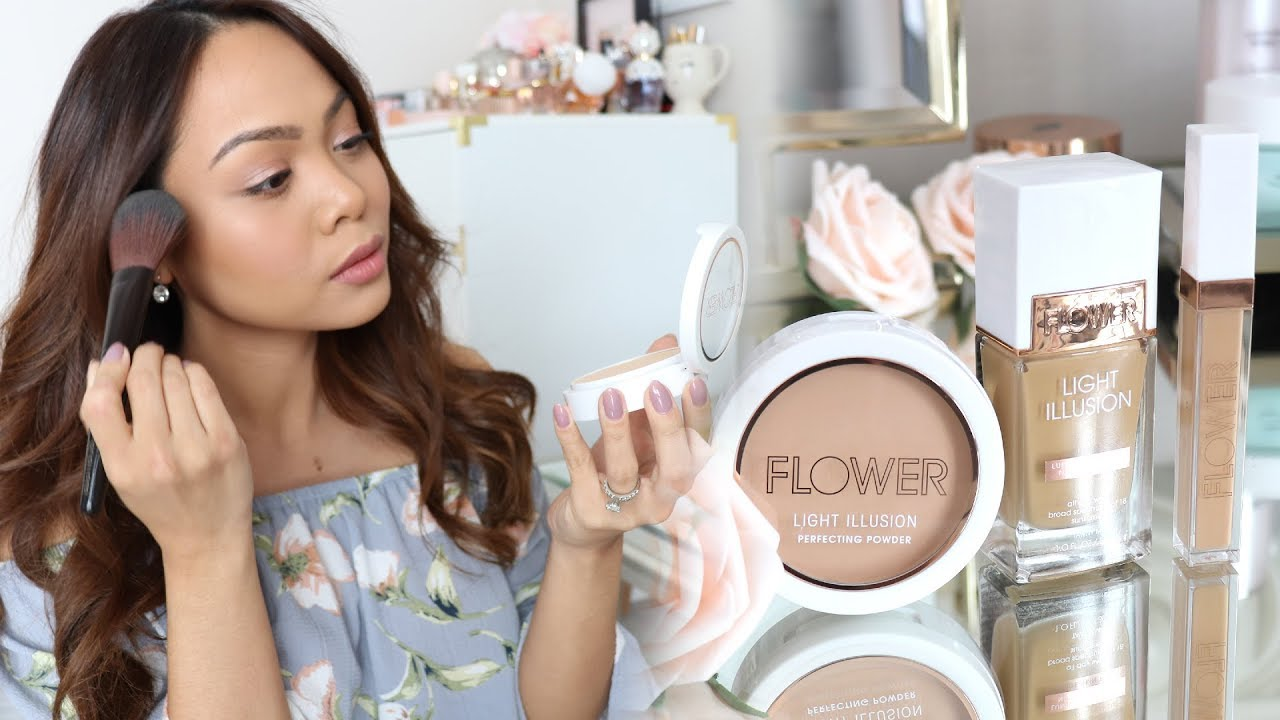 Omg New Flower Beauty Makeup First Impression Youtube