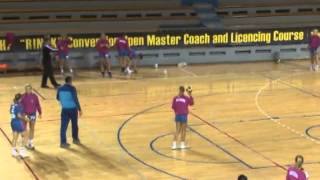 Special training of back court players by Peter Kovacs