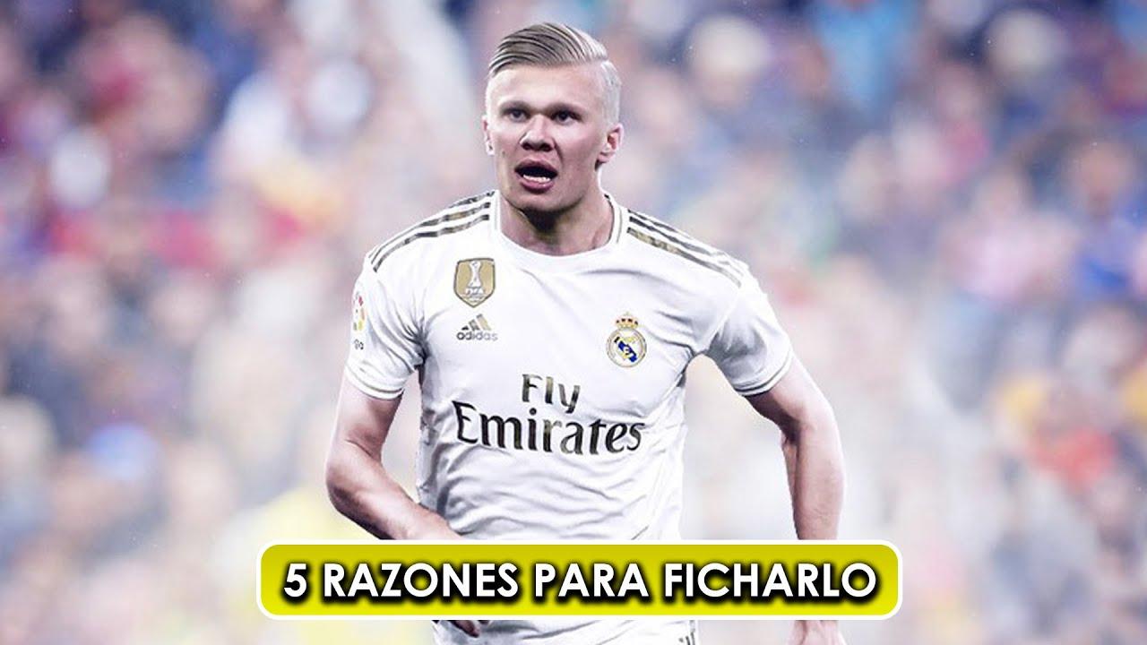 Las 5 razones por las que el Real Madrid debería fichar a Haaland