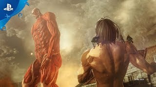 Attack on Titan 2: Final Battle - Reveal Trailer | PS4