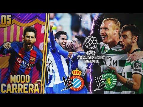 FIFA 18   MODO CARRERA - FC BARCELONA   ¡EMPIEZA EL MAYOR RETO, LA CHAMPIONS! #05