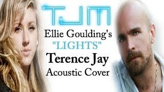 Lights Ellie Goulding - Terence Jay Cover