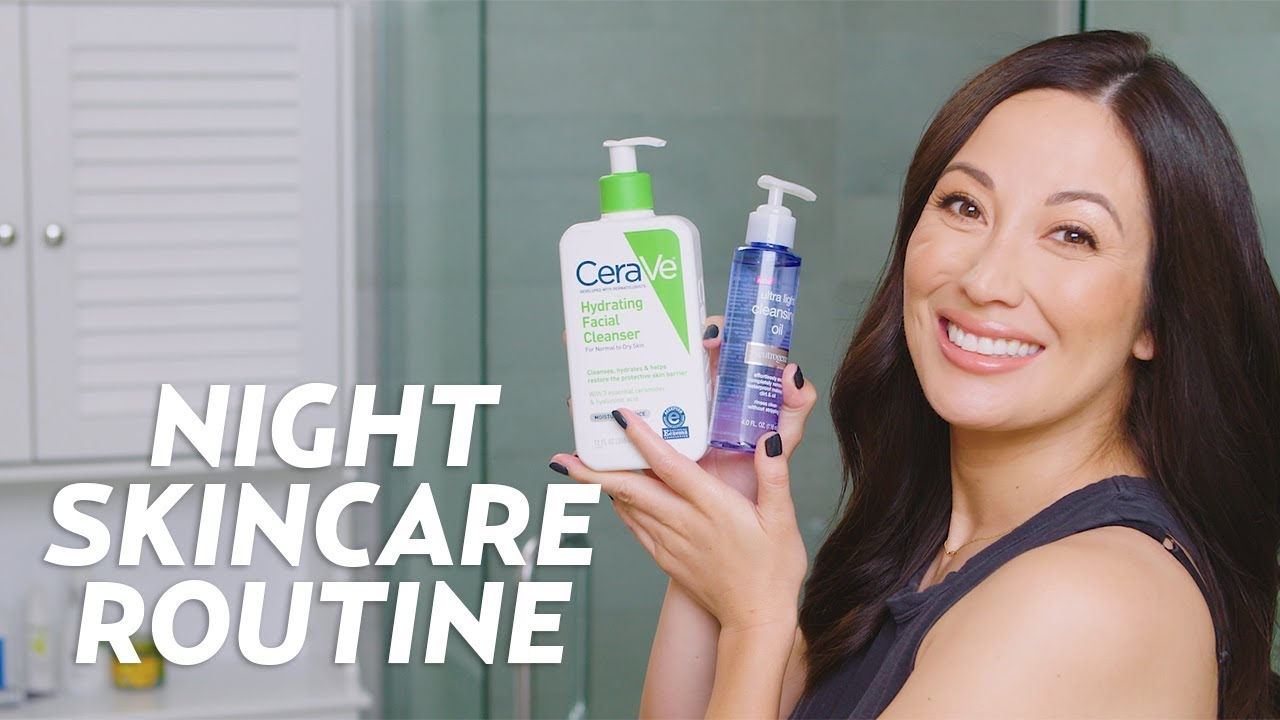 My Nighttime Skincare Routine With Walmart Products Skincare