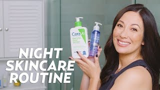 My Nighttime Skincare Routine with Walmart Products | #SKINCARE